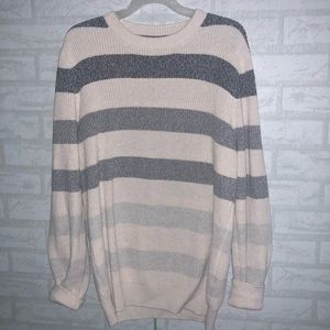 Men's Brunello Cucinelli striped sweater sz 54